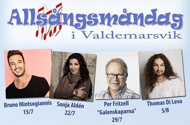 Premiär för Allsångsmåndagarna 2019!